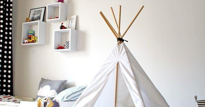 DIY: Tiipii-teltta