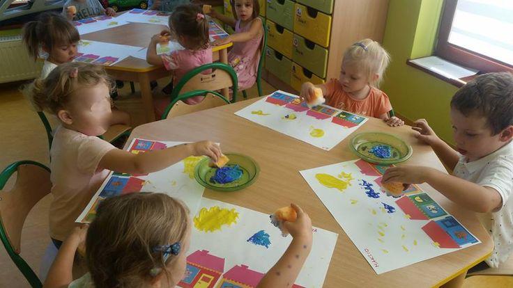 Zajęcia kreatywne :) #przedszkole #swiatdziecka #konstancin #malowanie #zabawa #kreatywne #dzieci