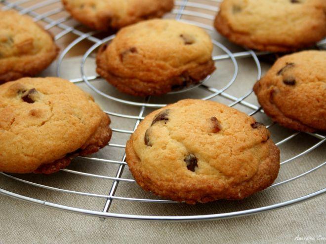 Recette Dessert : Cookies aux trois chocolats par AmandineCooking