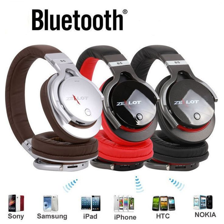 High Quality Headset Zealot B5 Wireless Bluetooth HiFi Stereo Earphones Headphones With Microphone Support TF Card Play Mp3 (22)