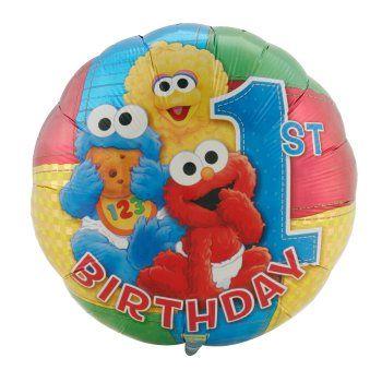 Lots of sesame street birthday party ideas