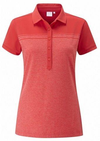 Polo de golf PING HANNAH para mujeres. • UPF 50 +•