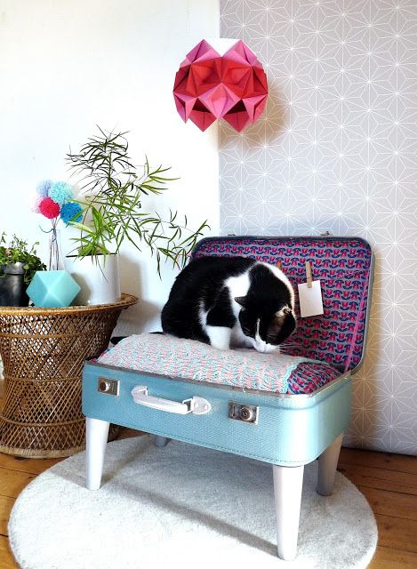 les 25 meilleures id es de la cat gorie panier pour chat sur pinterest paniers pour chiens. Black Bedroom Furniture Sets. Home Design Ideas