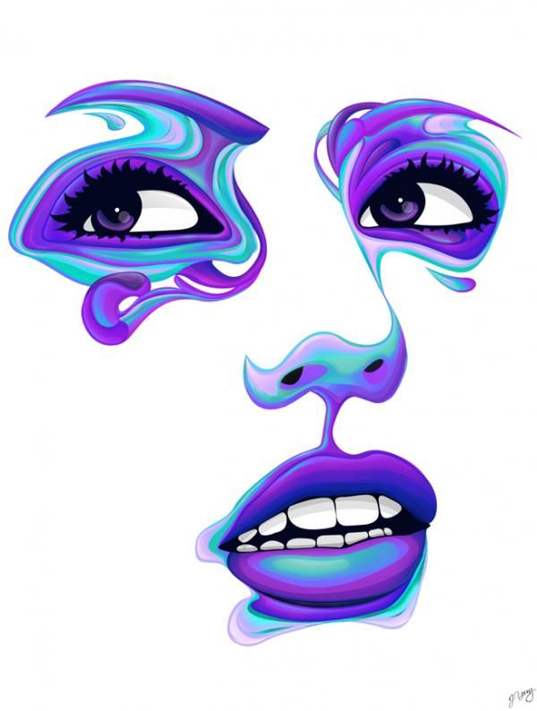 frozen by jeremyyoung - Vector Faces by Jeremy Young <3 <3