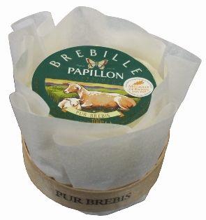 Sir Brebille Papillon Tulipe. Mehki ovčji sir.