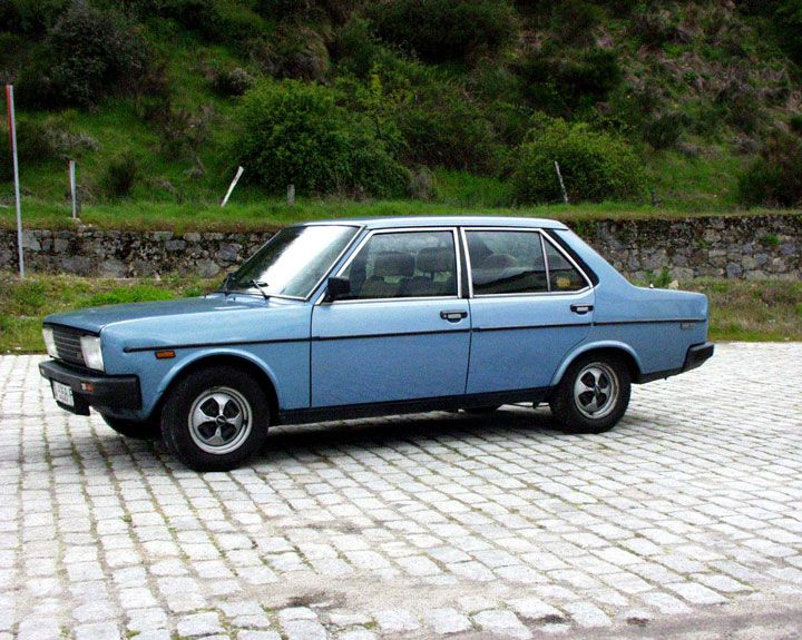 Fiat 131 blue seat – 1980