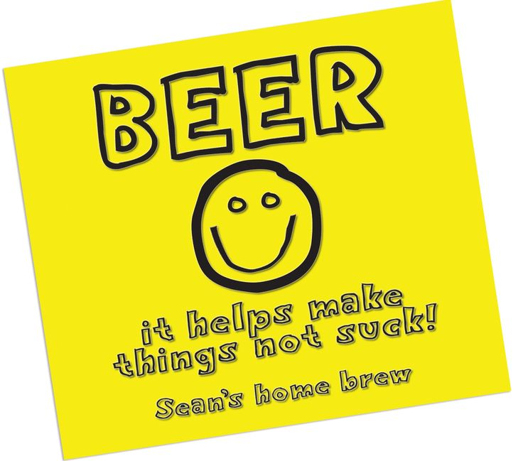 It's just a graphic of Dynamite Funny Beer Warning Labels