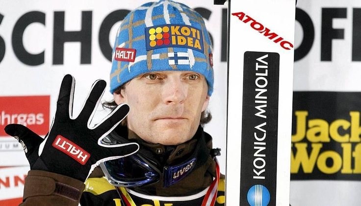 Janne Ahonen, Finnish ski jumper. Af ter a break he is back in business !  #Janne #Ahonen #ski #Finland