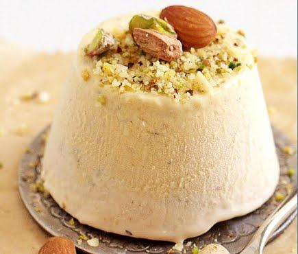 mango kulfi - indian ice cream
