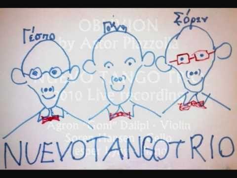 Oblivion by Astor Piazzolla - Soren Lyng Hansen & Nuevo Tango Trio 2010 ...