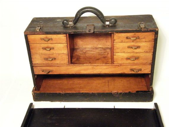 Wooden Machinist Tool Chest Plans Free - WoodWorking ...