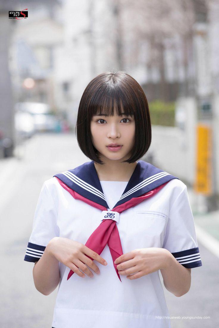 Suzu Hirose. Follow my board for more cute sexy Asian schoolgirls https://www.pinterest.com/hangmen13/cute-asian-schoolgirls/