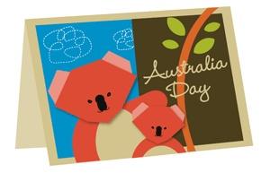Australia Day - Make your own origami koala
