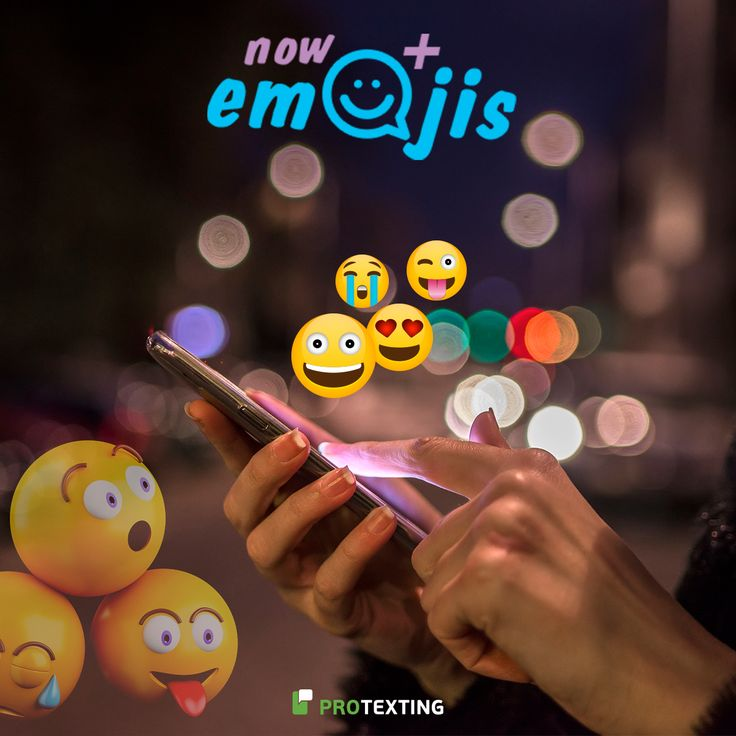 LIVE! Add Emojis to Your SMS Campaigns.  More info: https://www.protexting.com/blog/2017/10/add-emojis-to-your-sms-campaigns/?utm_content=buffere8f14&utm_medium=social&utm_source=pinterest.com&utm_campaign=buffer  #emojis #messaging #SMS #campaigns #business