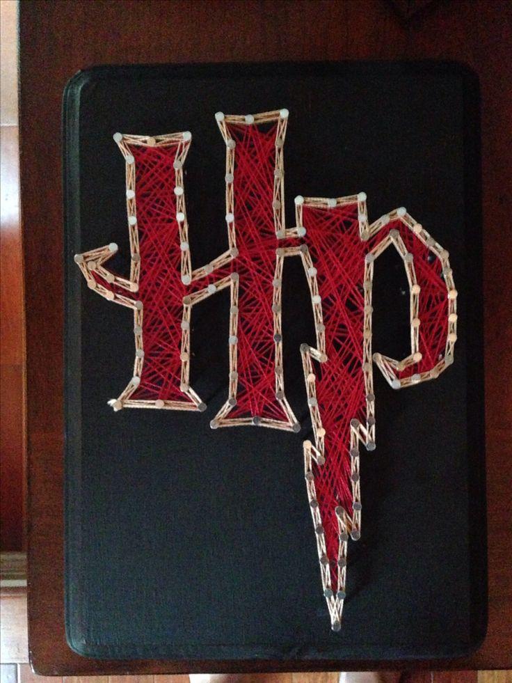 Harry Potter String Art | #stringart #harrypotter #diy