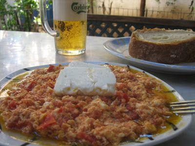 Στραπατσάδα [αυγά με ντομάτες ] λατρεμένο φαγάκι!! ~ ΜΑΓΕΙΡΙΚΗ ΚΑΙ ΣΥΝΤΑΓΕΣ