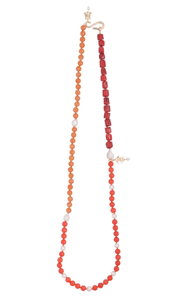 Trio Necklace - Cherry #designernecklace #designerjewellery #designerjewelry #jewellery #necklace #Duchess #fashion #designerfashion
