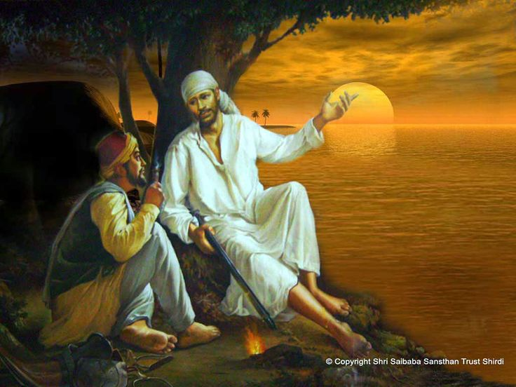 Download Sai Baba Latest Wallpapers Gallery: Sai Baba Wallpaper For Desktop Download