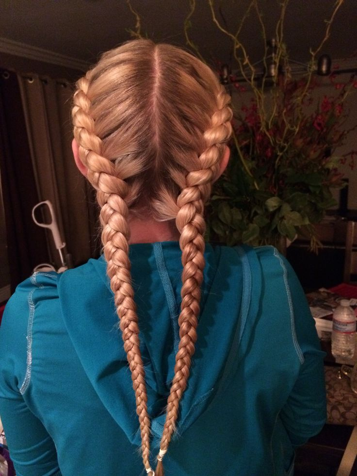 Best 25 Two French Braids Ideas On Pinterest Two Dutch