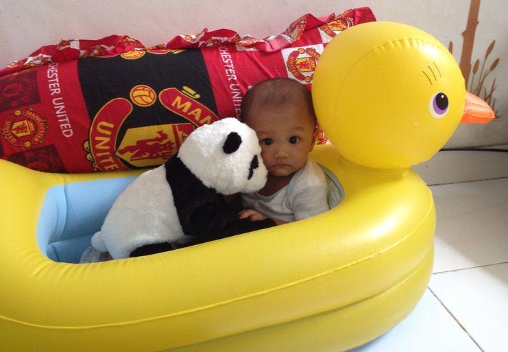 Playing with panda #arsakha