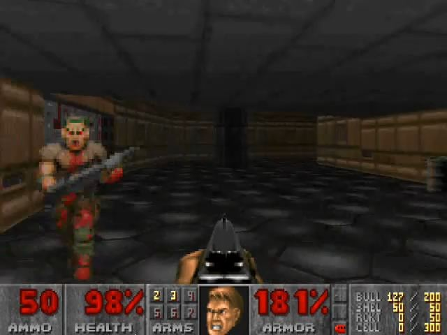 Doom (PC)  The first FPS I ever played, and still a classic.