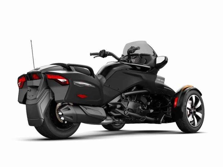 New 2017 Can-Am Spyder F3-T SM6 ATVs For Sale in Tennessee. When it's time for an extended Spyder F3 cruise, the F3-T is your bike. You get the added comfort of a tall windshield and smooth and quiet shocks. Then take along your stuff with integrated hard side luggage.