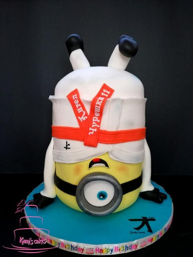It's time for judo - Cake by KamiSpasova