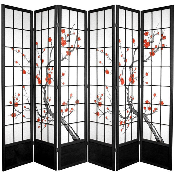 Best Room Dividers Images On Pinterest Room Dividers Art - Cherry blossom room divider screen