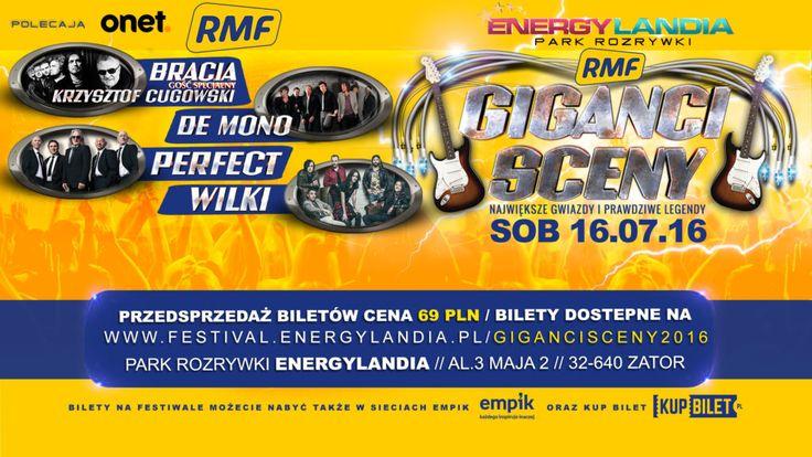 Festival Giganci Sceny RMF w parku Energylandia  #energylandia #demono #bracia