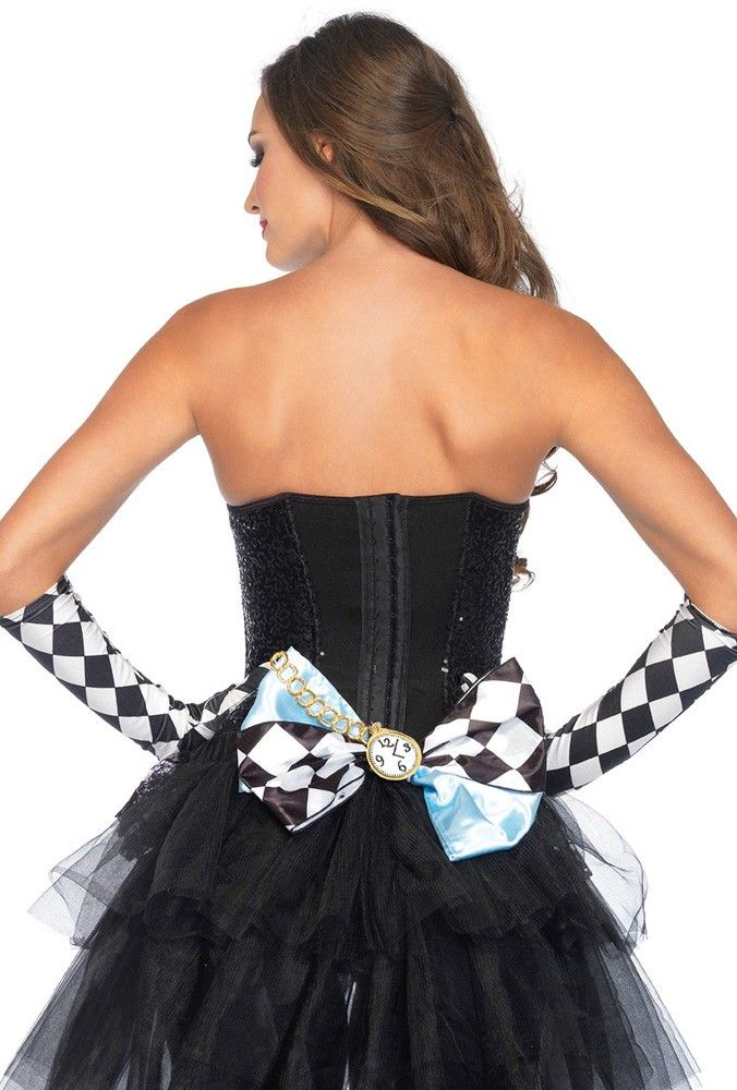 Leg Avenue Alice In Wonderland Oversize Bow Alice Ad Avenue