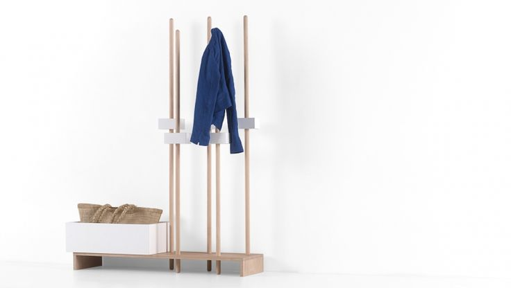 Stan / coat rack / design Giancarlo Cutello / Formabilio