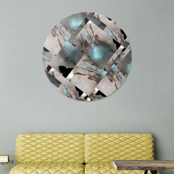 Discover «Medusa BLUE», Exclusive Edition Disk Print by gasponce - From 80€ - Curioos