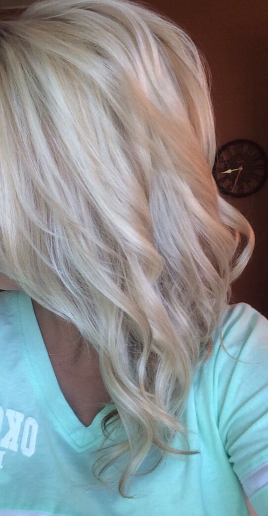 Highlights and Lowlights- Bleach Blonde