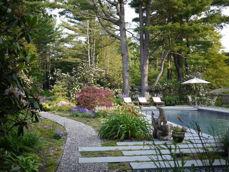 moss ledge pool by oneill rose architects gardenista summer housesmassachusettsswimming poolsgarden designlandscape