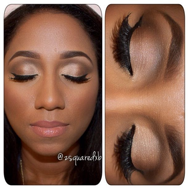 cat eye makeup dark skin - Google Search