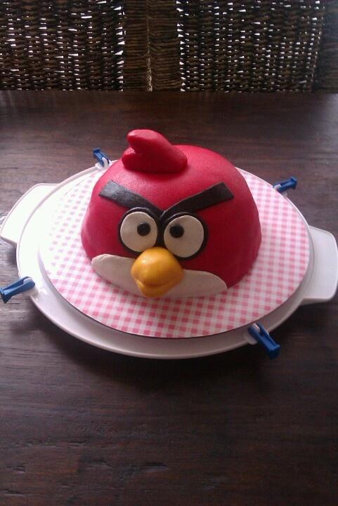 Angrey bird! Birthday cake