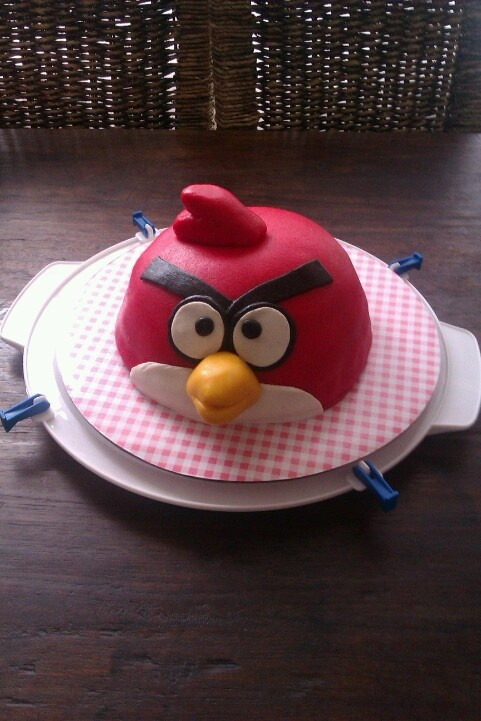 Angrey bird! Birthday cake
