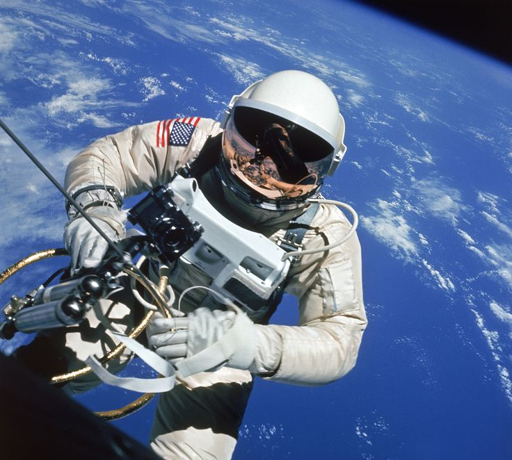 America's First Space Walk: Edward White Makes History ...