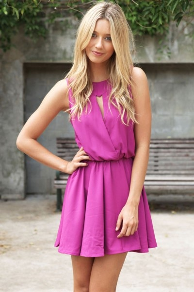 pretty dress - great for summer!