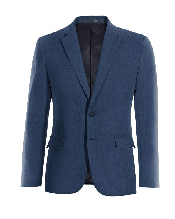 Blue wool Blazer http://www.tailor4less.com/en/men/blazers/3784-blue-wool-blazer