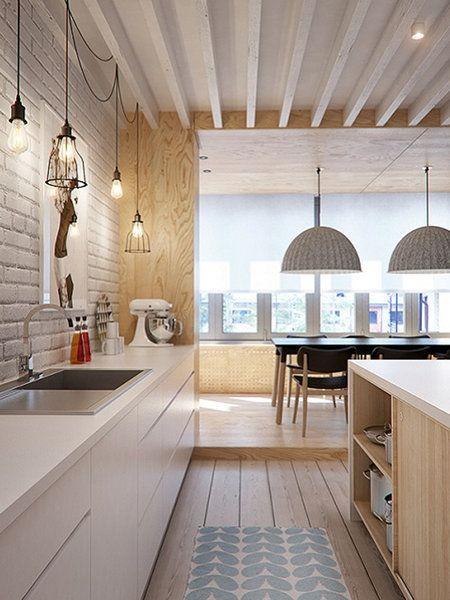 12 besten Apartment Bilder auf Pinterest - wohnzimmer offene decke