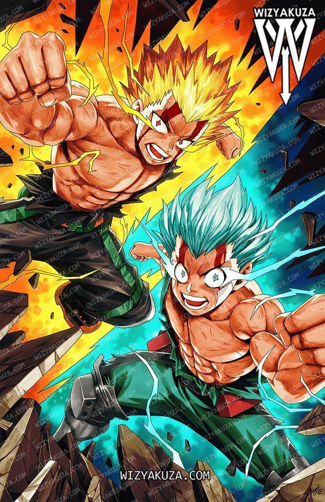 Bakugo Deku One For All Google Search In 2020 Hero Wallpaper Hero Poster My Hero Academia Episodes