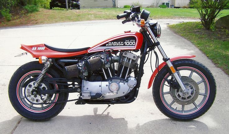 Art Couture's XR1000 Street Tracker ~ Phil Little Racing ~ Vintage Racing Motorcycle and Snowmobile Parts