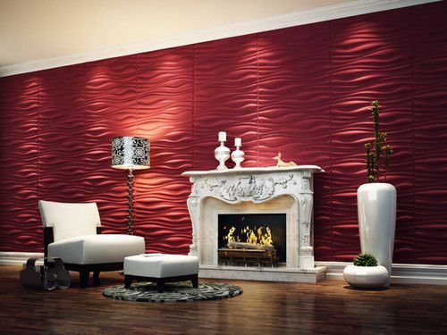 82 best Textured Surface 3D Wall Panels Design Ideas images on - contemporary wall paneling