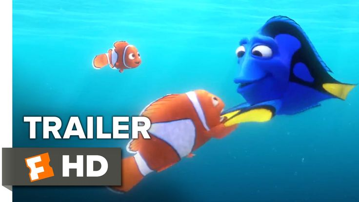 Finding Dory Official Trailer #1 (2016) - Ellen DeGeneres, Michael Sheen Animated Movie HD - YouTube