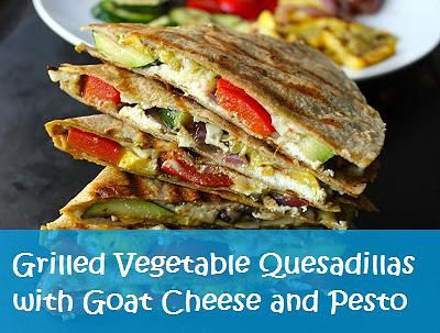 Grilled Goat Cheese And Roasted Red Pepper Pesto Sandwich Recipe ...