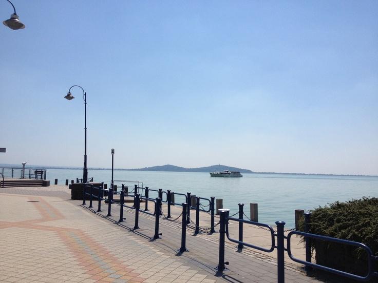 Lake Balaton at Badacsony