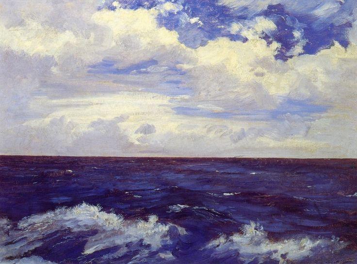 "artist-velasco: ""Mar Atlántico, 1889, Jose Maria Velasco """