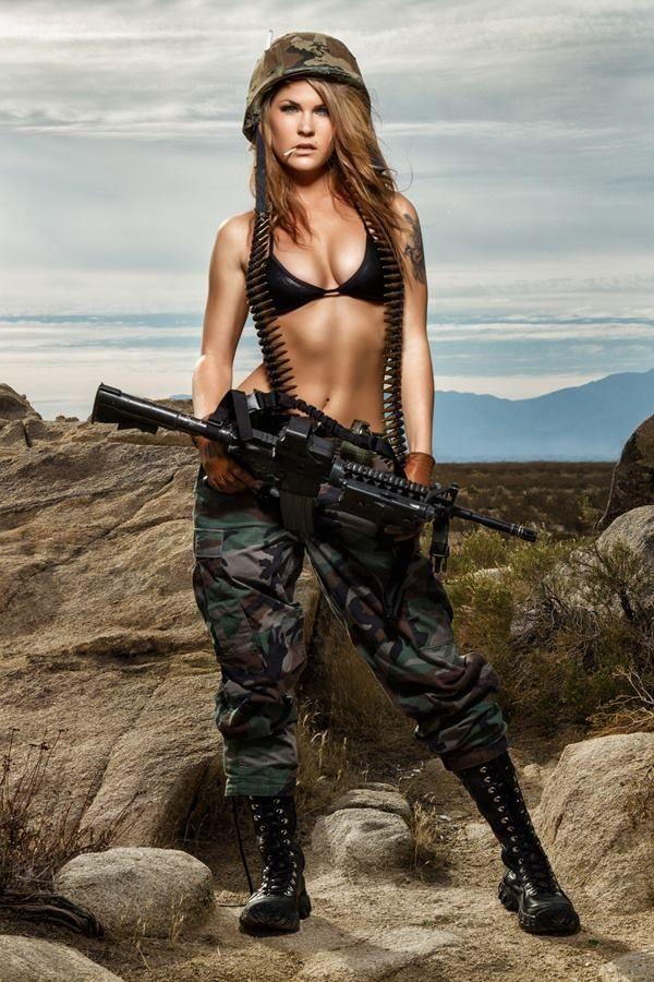Girls With Guns Girls Amp Guns Pinterest Best Sexy