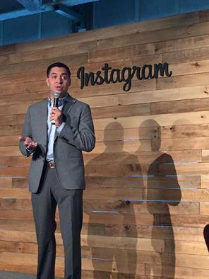"""""""México es uno de los países con mayor engagement en Instagram"""", Jorge Ruíz, director de Facebook México y Centroamérica. #InstaGalleryMX"""